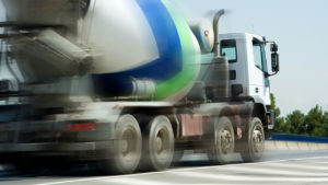 Concrete Truck Driving