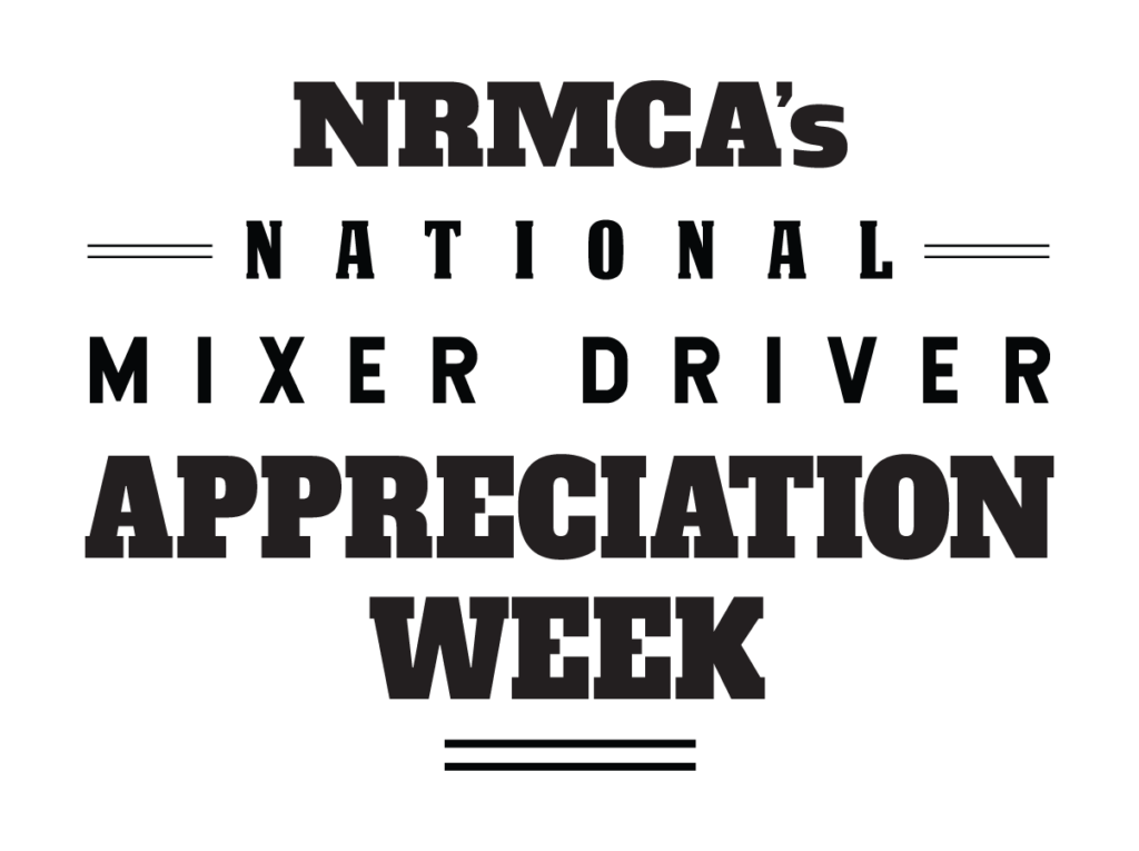 NRMCA National Mixer Driver Appreciation Week Logo