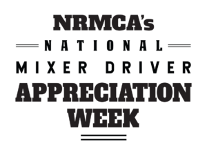 NRMCA National Mixer Driver Appreciation Week Logo
