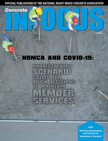 Concrete InFocus Fall 2020 Cover