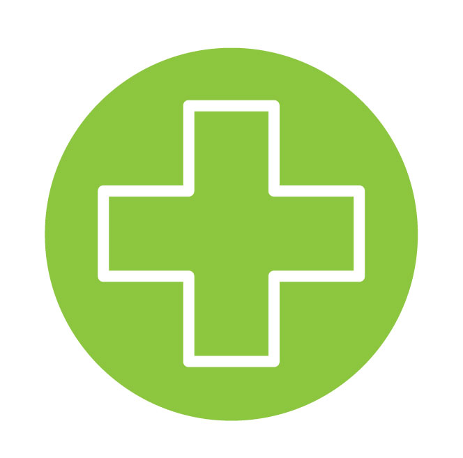 Material Health Icon