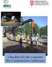 Checklist for Concrete